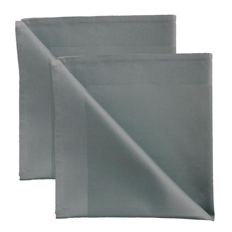 2 stk. Servietter Grey Blue