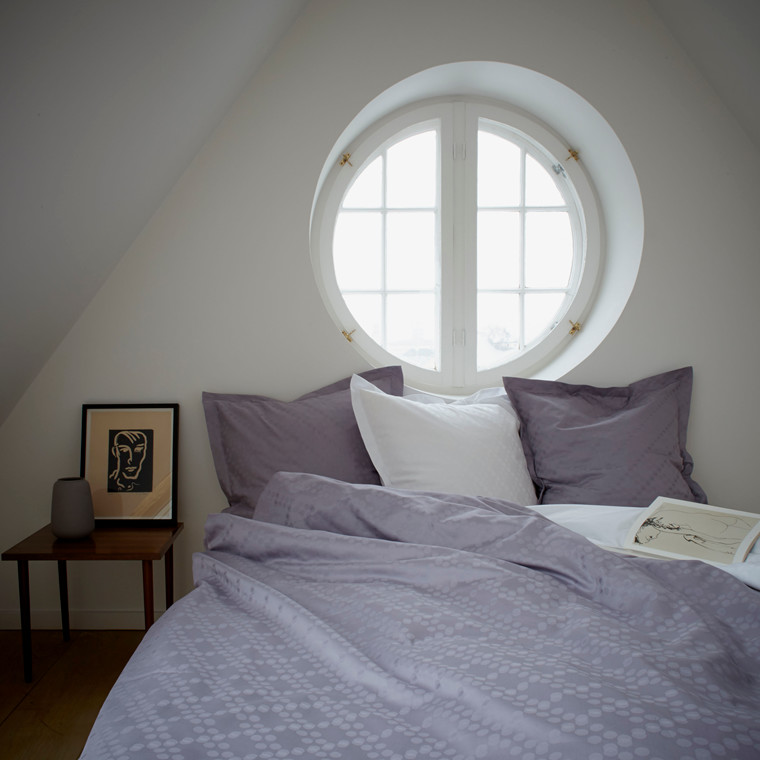 DOTS sengetøj Vintage lilac