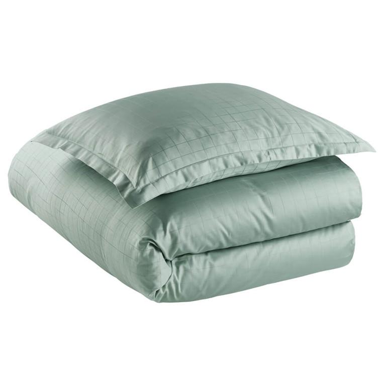 ENGESVIK by hand bed linen Jade Green
