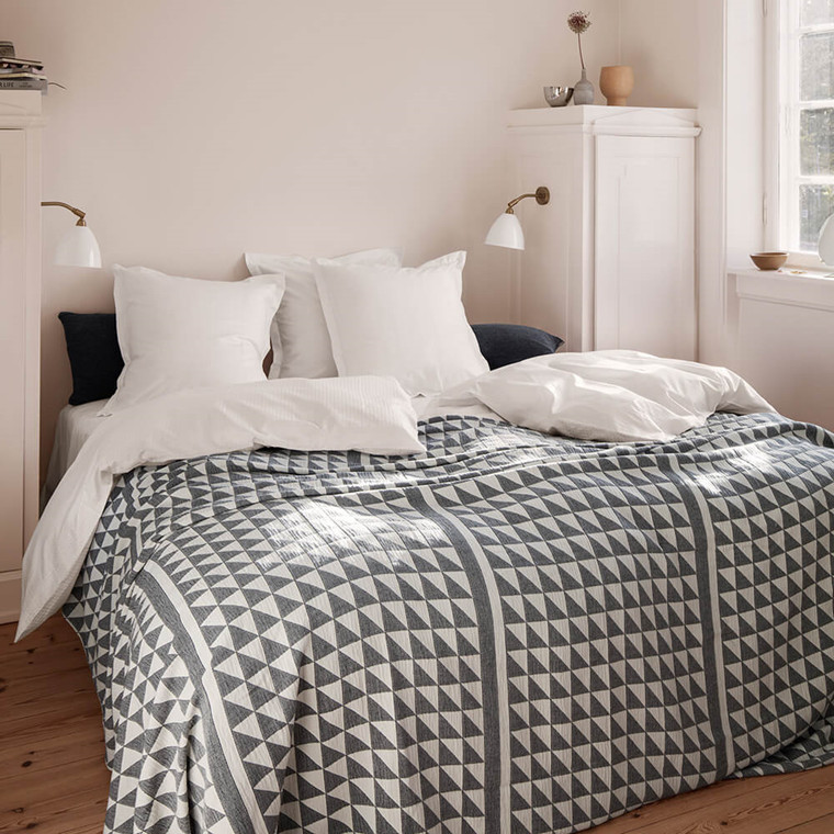FACET bedspread Ecru/Black