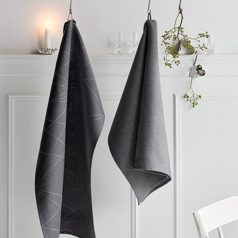 1 stk. FINNSDOTTIR -oppvaskhåndklær og 1 stk. EGYPT kjøkkenhåndkle