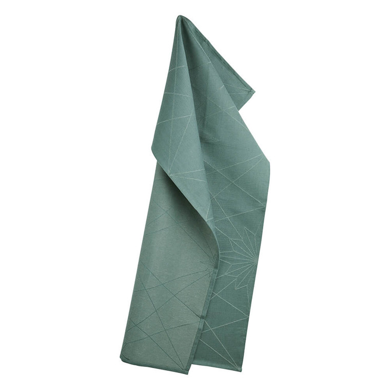FINNSDOTTIR  tea towels Jade Green
