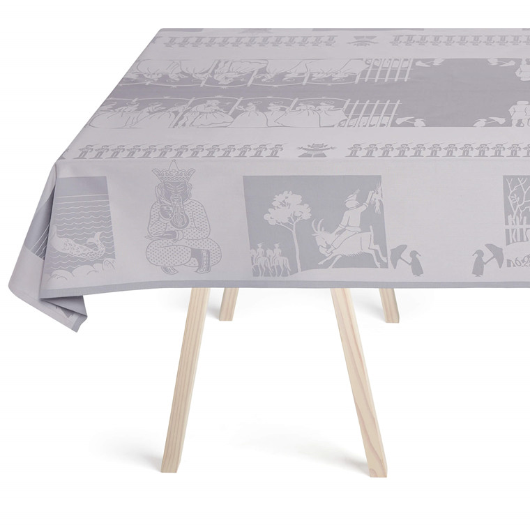 The H.C. ANDERSEN tablecloth Zinc