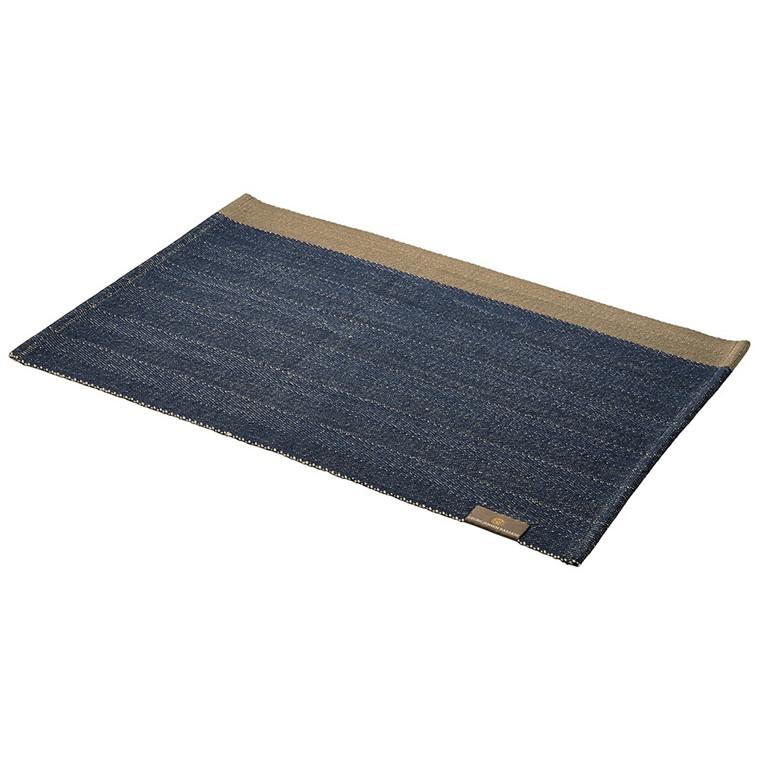 HERRINGBONE Tischsets Deep Blue