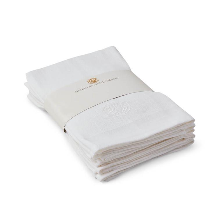 6 st.  LAIN linneservettpaketet White