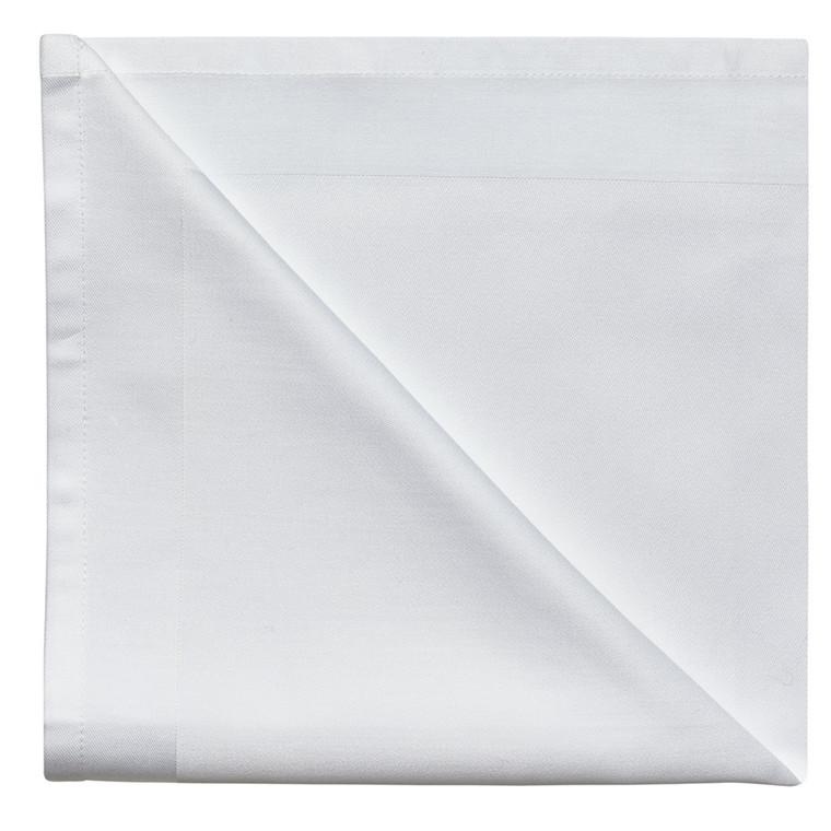 4 stk. Servietter White