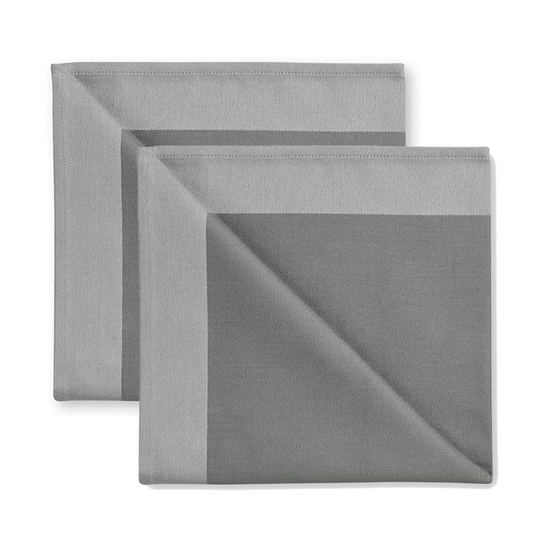 2 stück Servietten Winter Grey