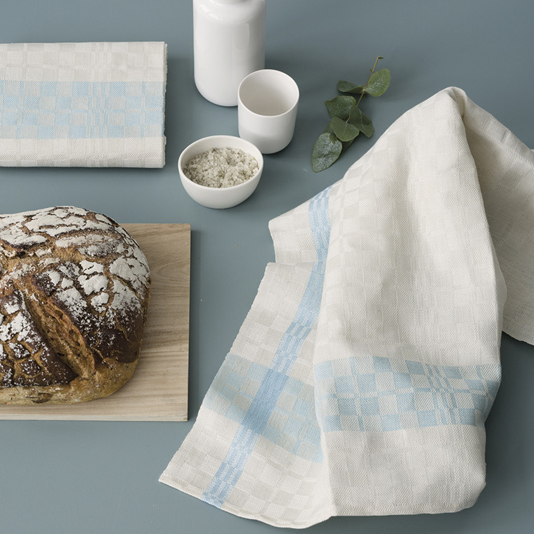 PUK tea towels Sage