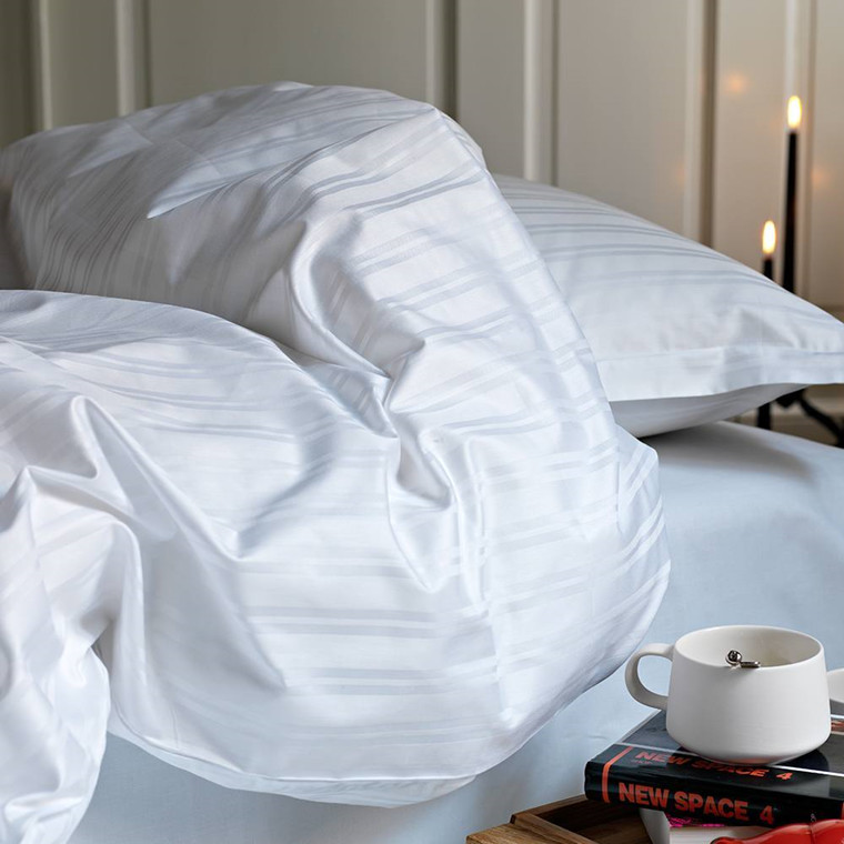 TANGENT bed linen White