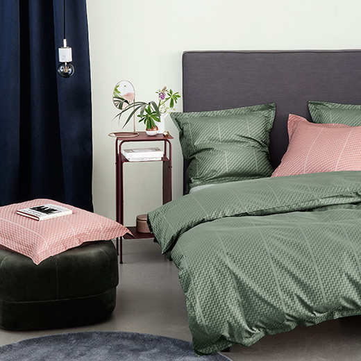TRIPP bed linen Fir Green