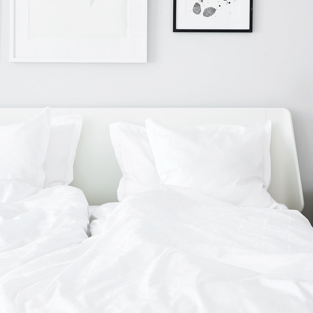 ARNE JACOBSEN bed linen White