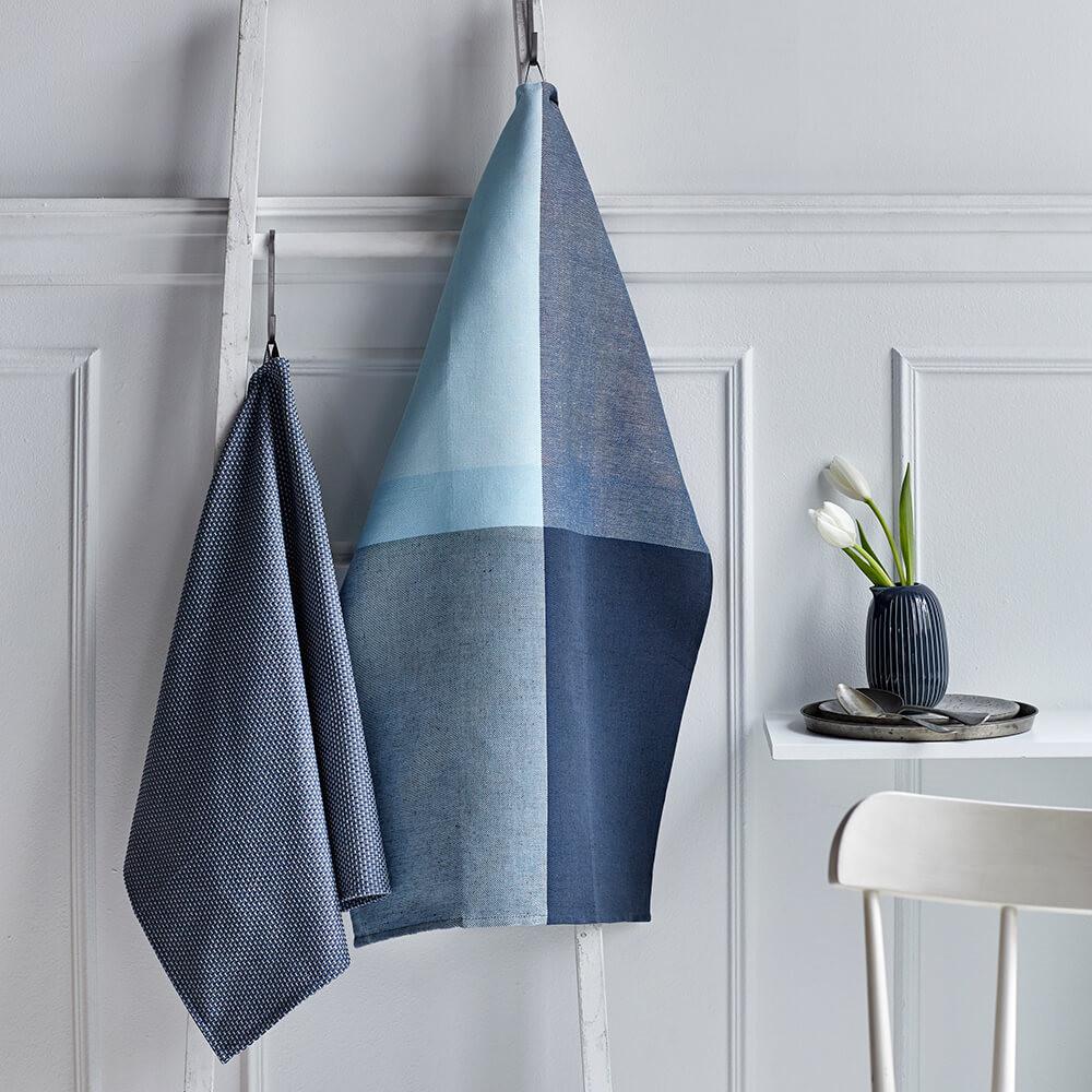 1 pc. COLOURBLOCK tea towel and 1 pc. EGYPT kitchen towel