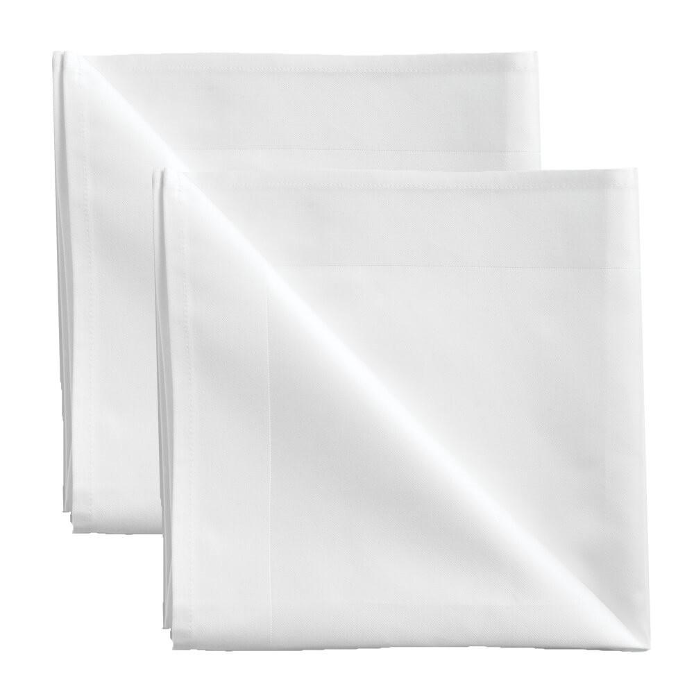 2 Stück Servietten White