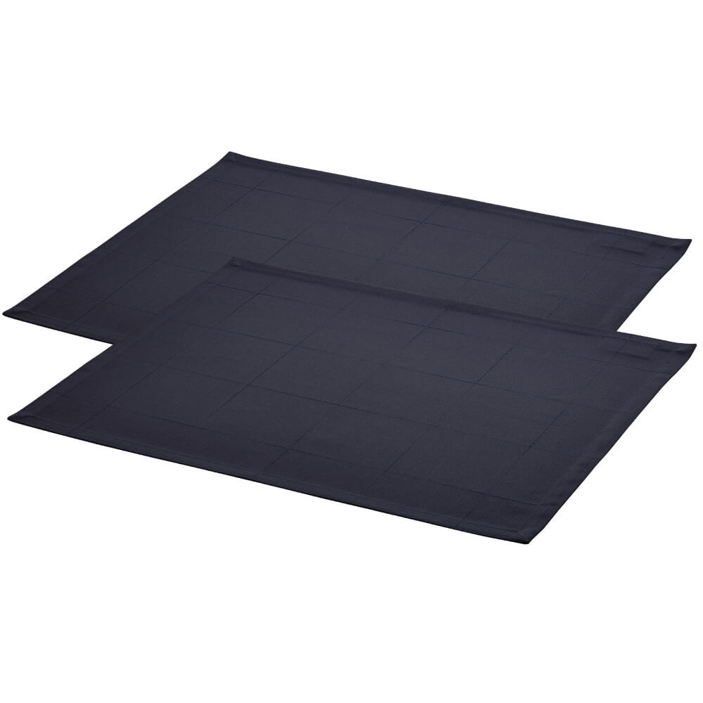 2 pcs ENGESVIK by hand placemats Blue Abyss