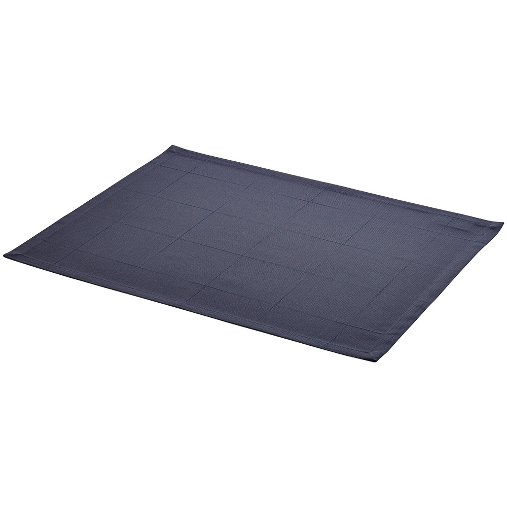 ENGESVIK by hand placemats Blue Abyss