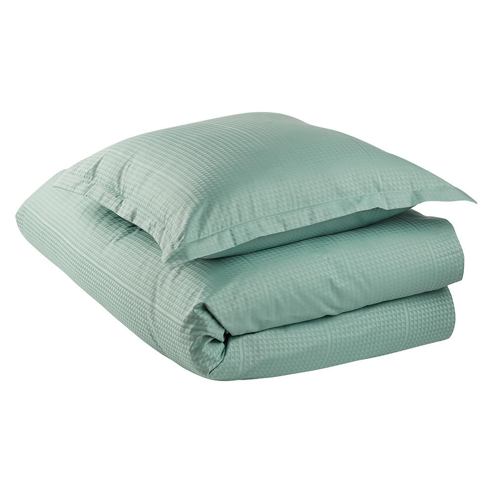 FACET sengetøy Jade Green