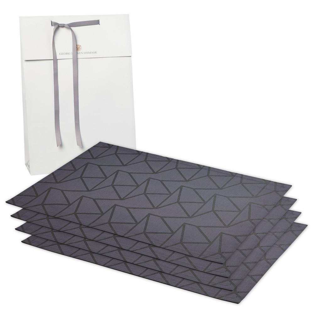 4 ARNE JACOBSEN rectangular placemats
