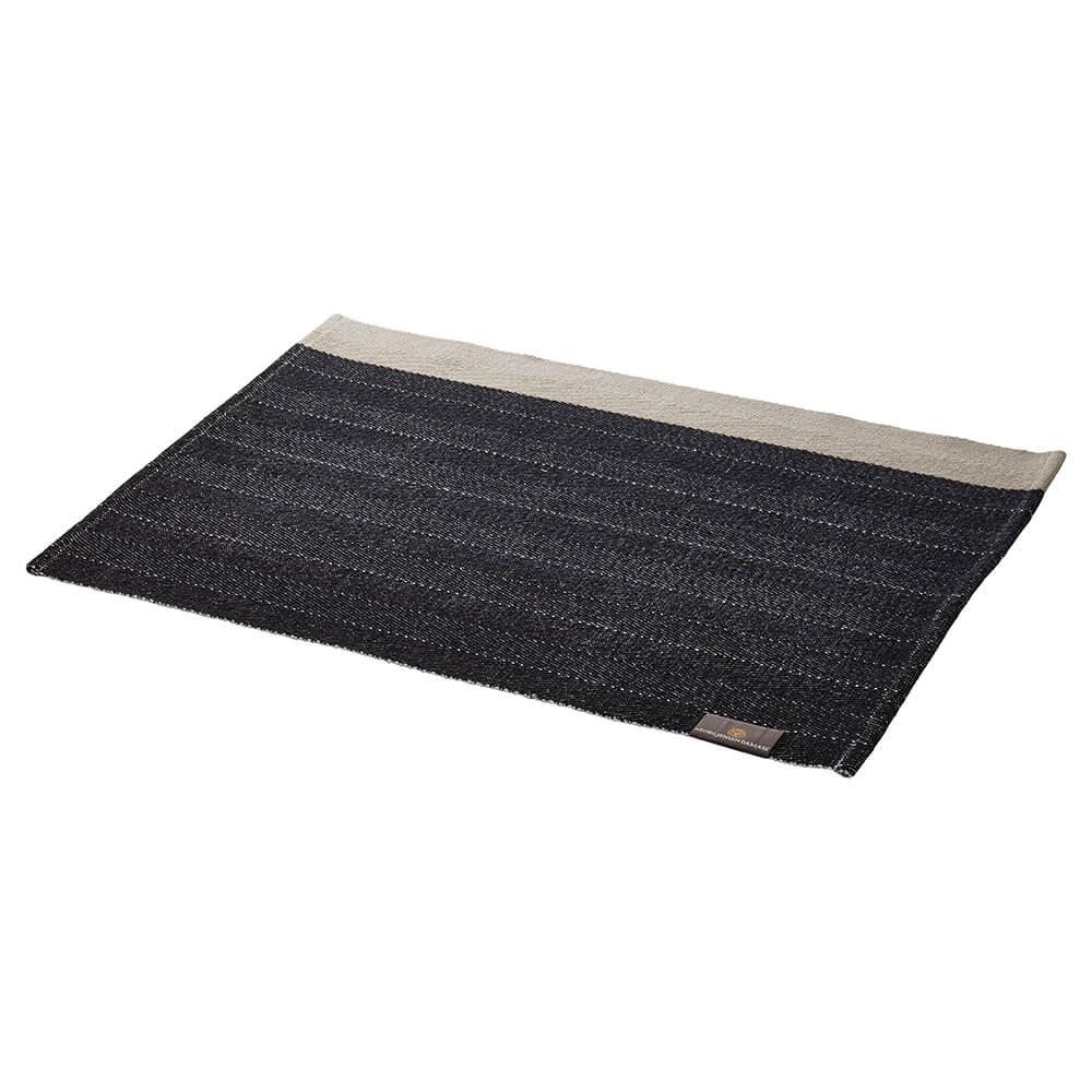 HERRINGBONE Tischsets Black