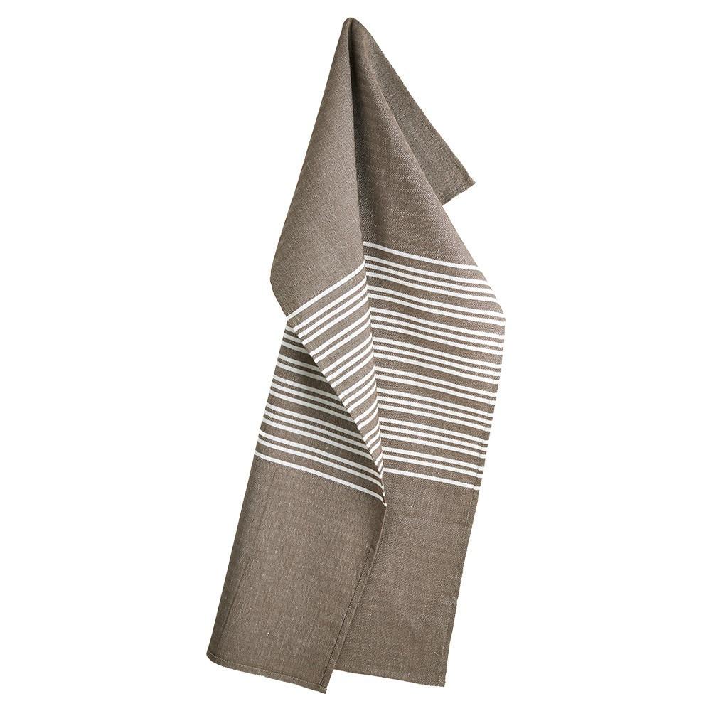 HORIZONTAL tea towels Walnut