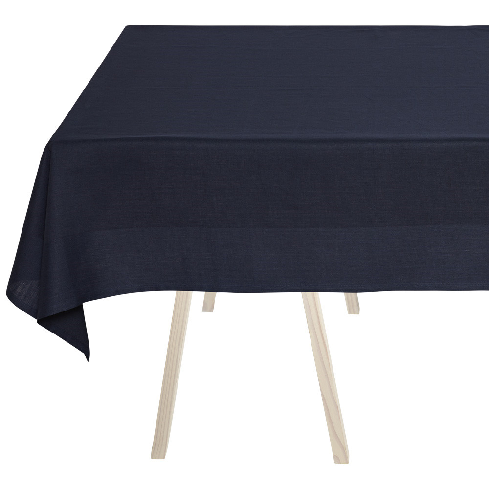 PLAIN Tischdecke  Deep Blue
