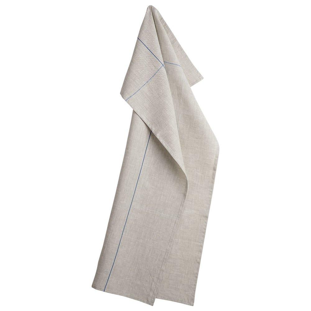 RAIN 1 tea towels Blue Stripe