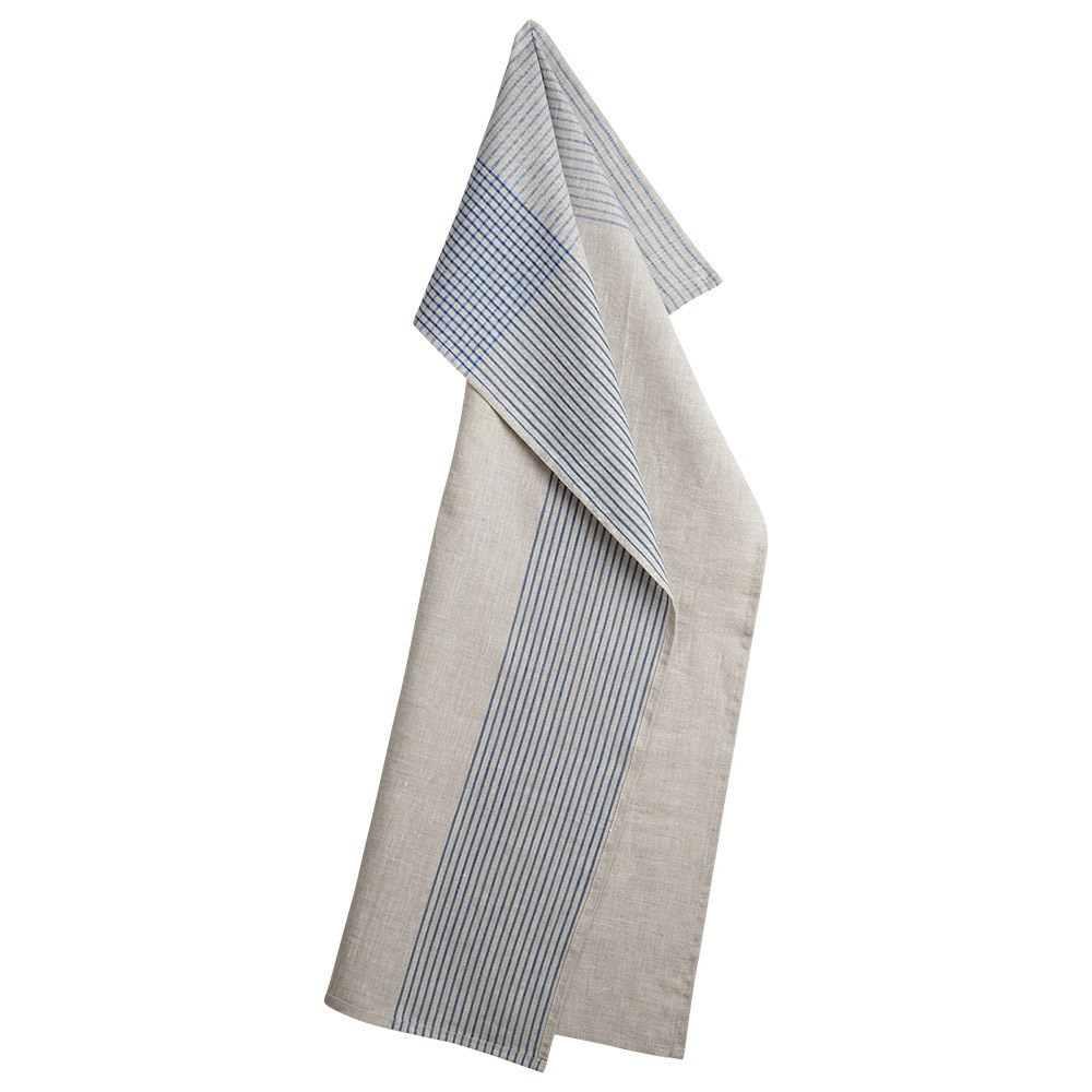RAIN 20 tea towels Blue Stripe