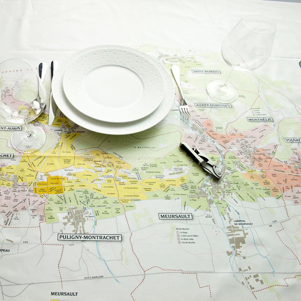 BOURGOGNE // CÔTE DE BEAUNE  tablecloths