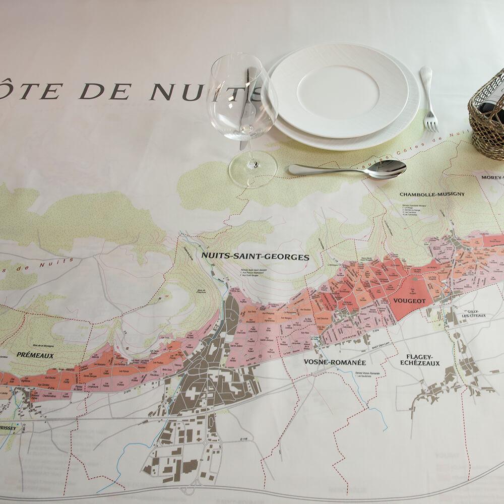 BOURGOGNE // CÔTE DE NUITS tablecloths
