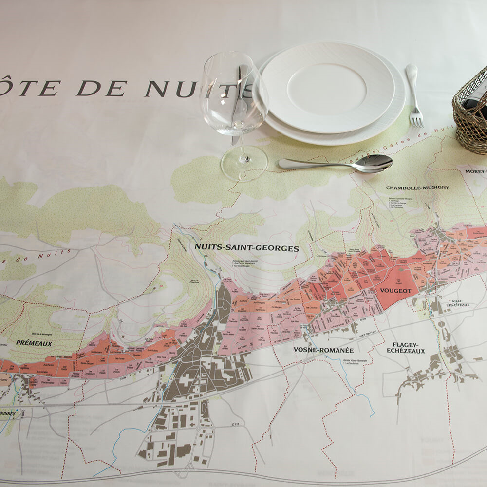 Bourgogne // CÔTE DE NUITS Damastdecke