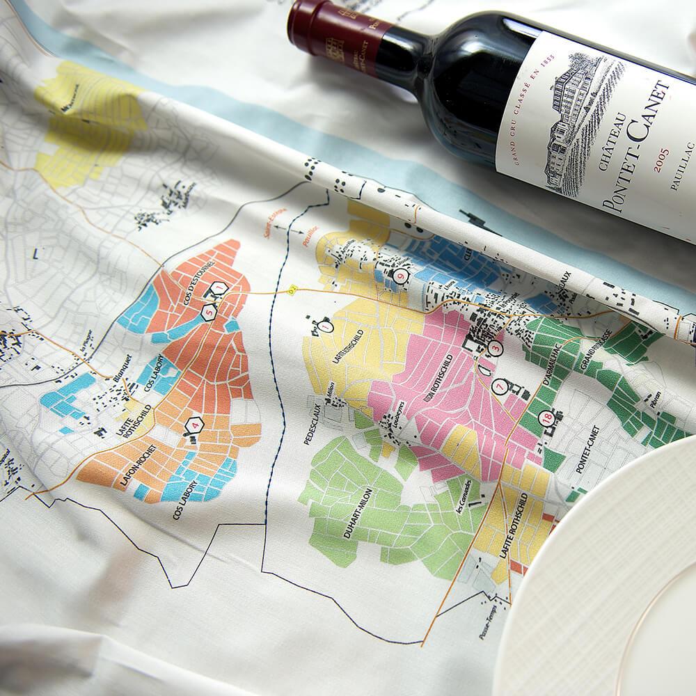 BORDEAUX // PAUILLAC tablecloths