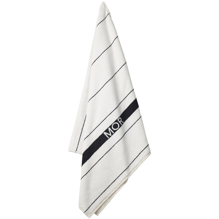 STRIPE MOR badehåndklæde