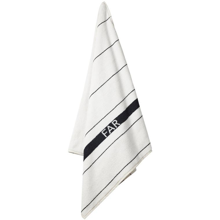 STRIPE badehåndklæde