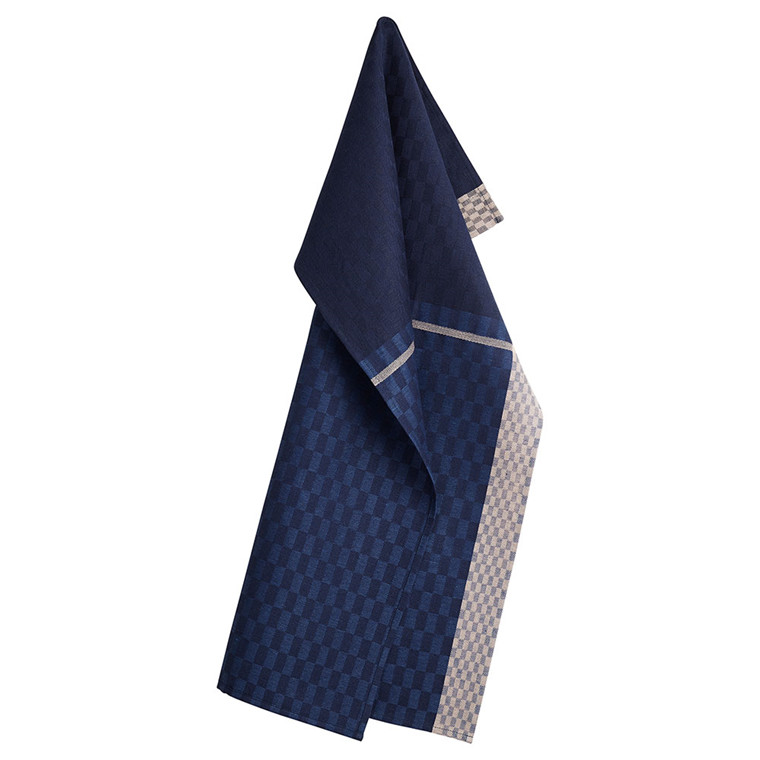 COLOURS tea towels Deep Blue