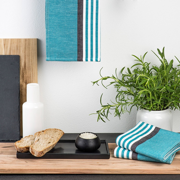 ABILD tea towels Dark Turquoise