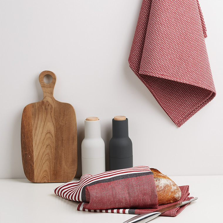ABILD tea towels Red