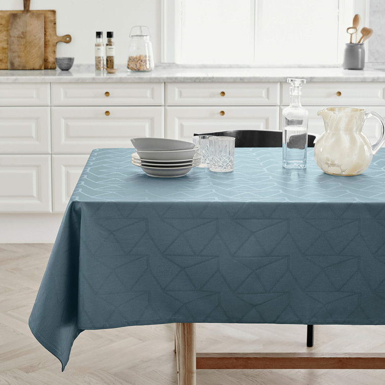 ARNE JACOBSEN tablecloths Dusty Blue