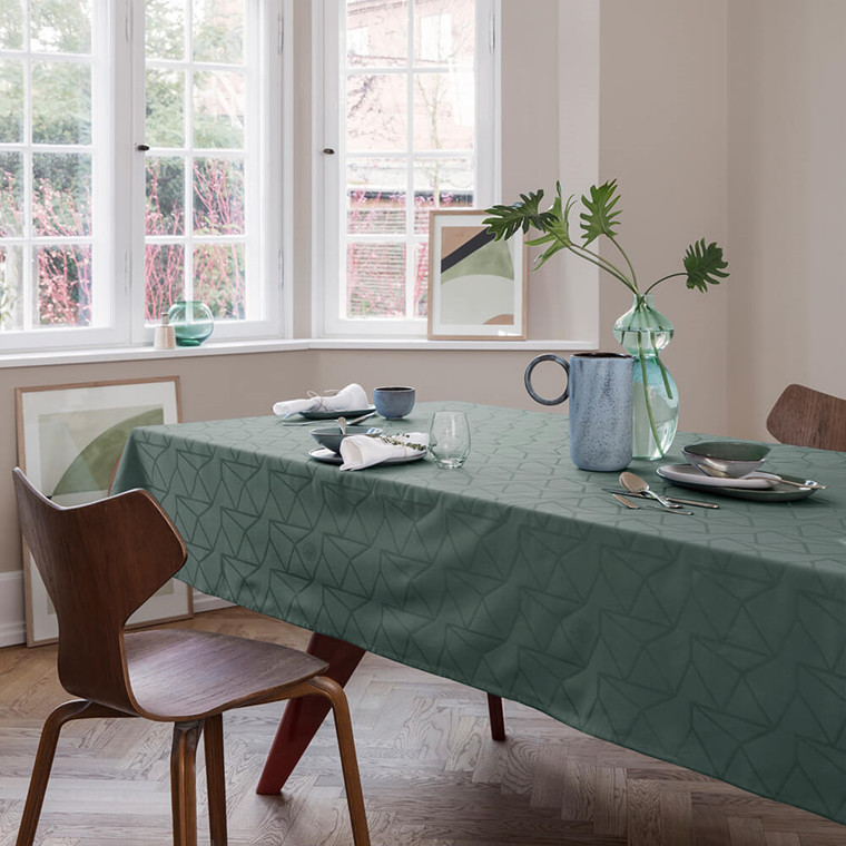 ARNE JACOBSEN tablecloths Dusty Green