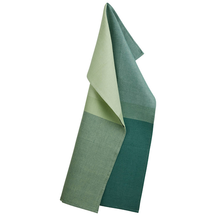 COLOURBLOCK tea towels Jade Green