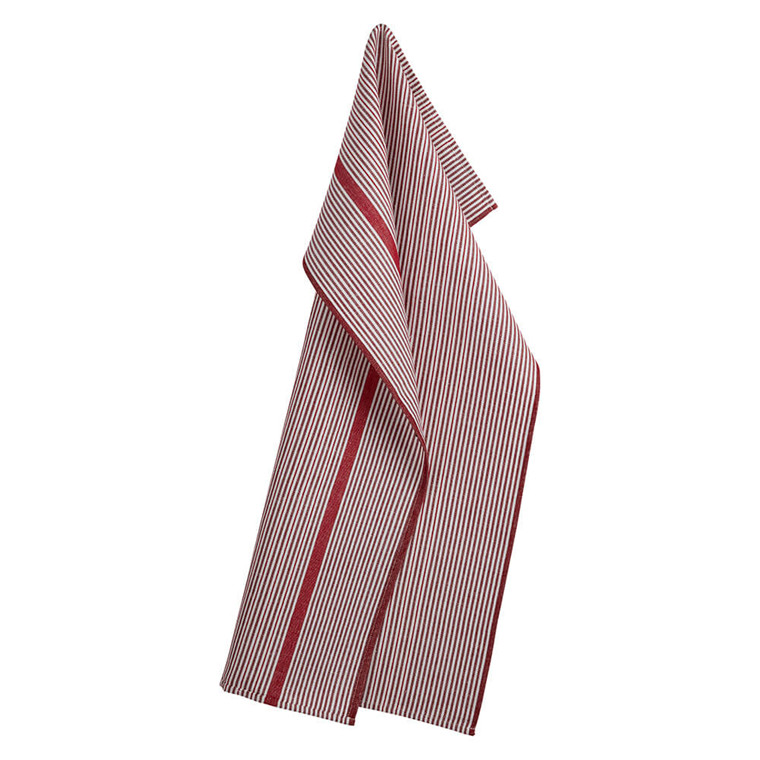 COMET tea towels Deep Red