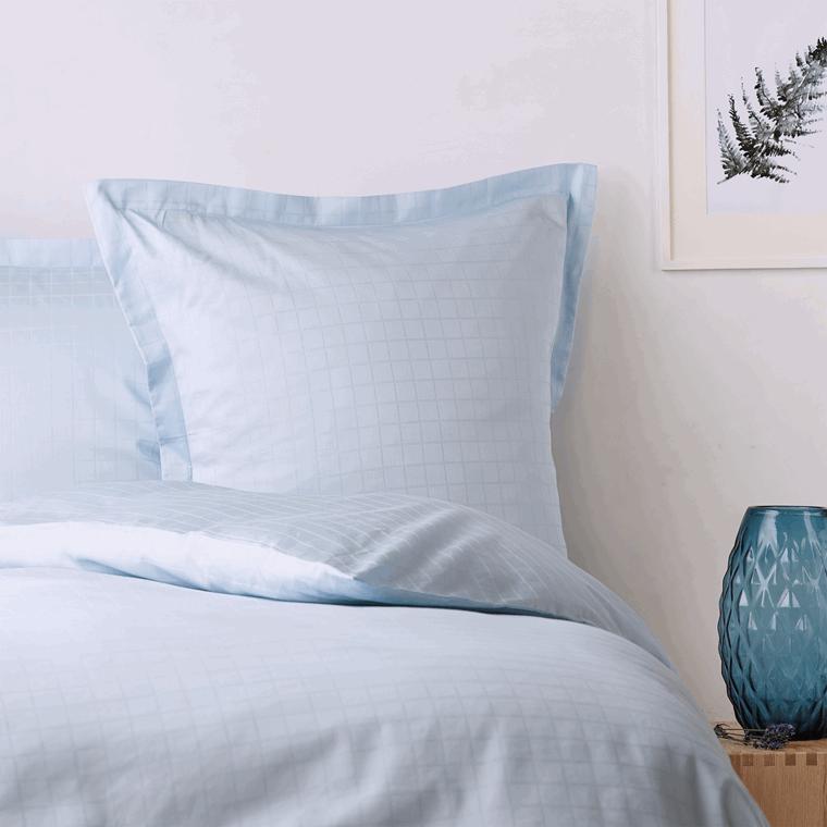 1 sett. CUBICLE sengetøy Light Blue