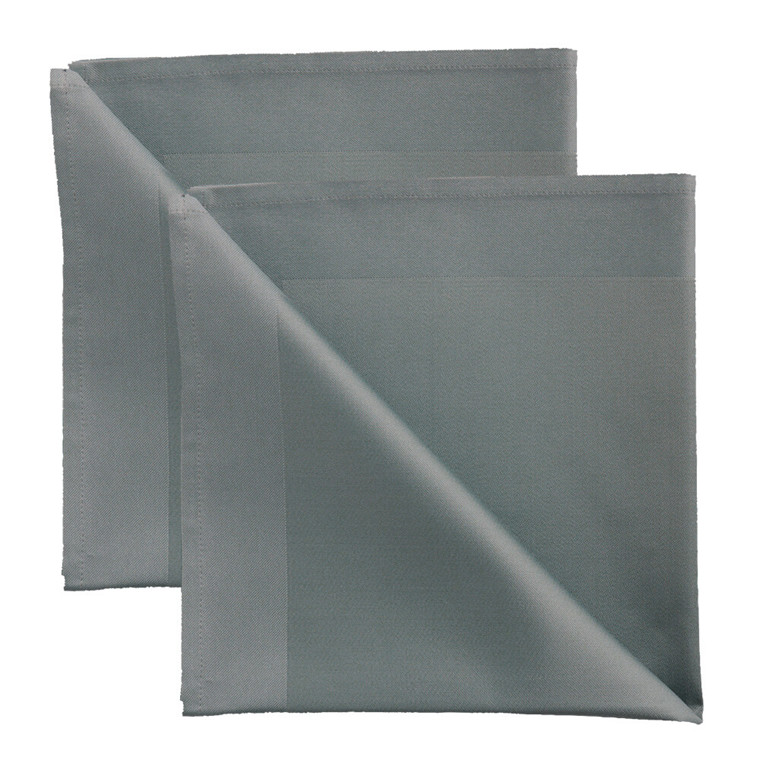 2 pcs Napkins Grey Blue