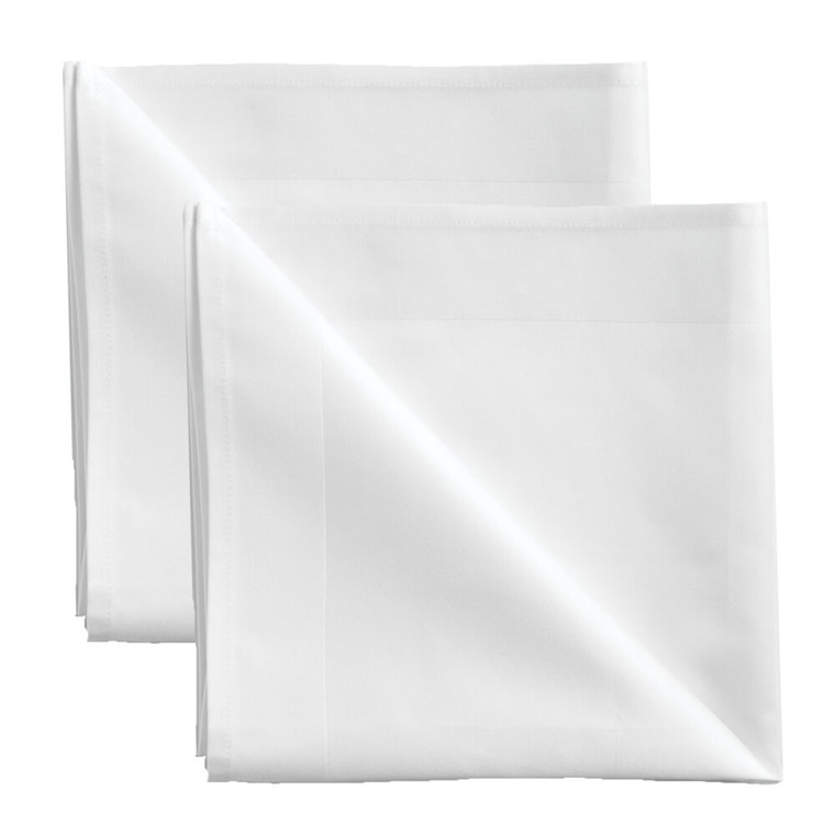2 pcs Napkins White
