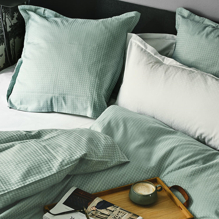 FACET bed linen Jade Green