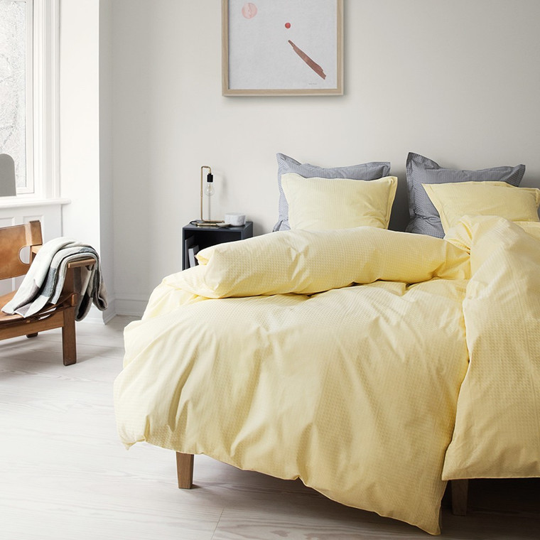 FACET sengetøy Yellow