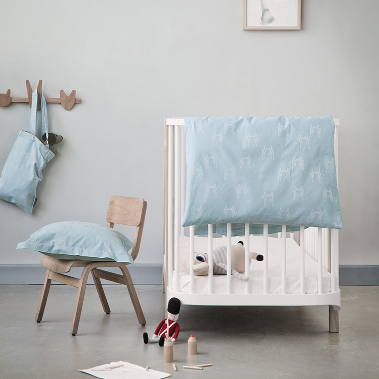 FAIRYTALE Baby-Bettwäsche Pale Blue