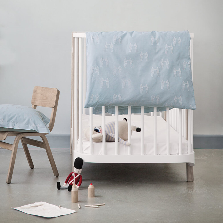 FAIRYTALE babysängkläder Pale Blue