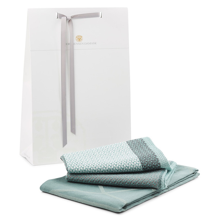 ARNE JACOBSEN dish towel and NORS dish towel