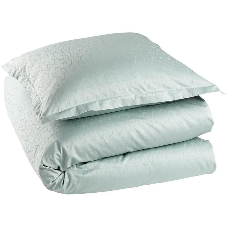 GRID bed linen Jade Green