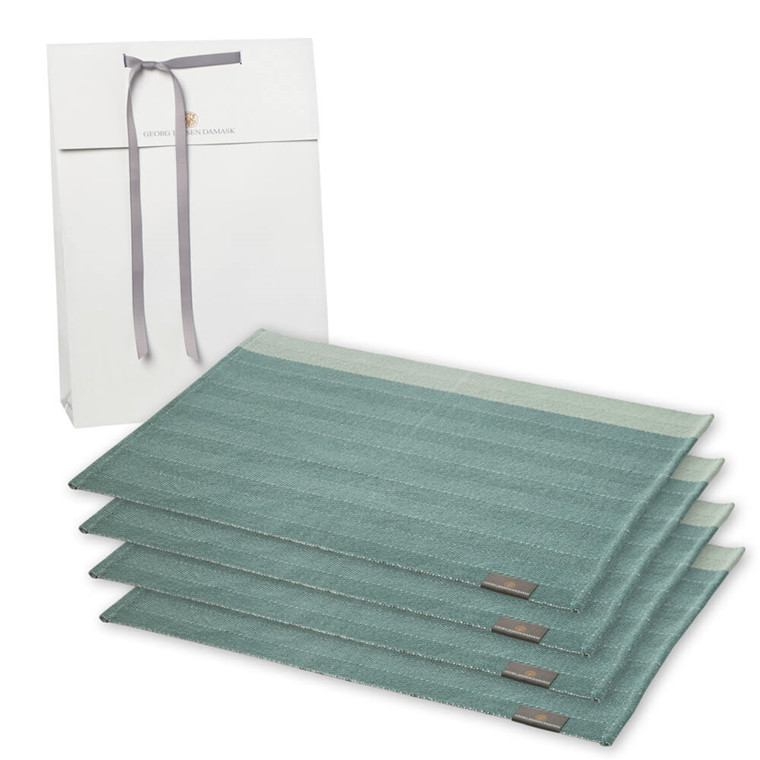4 HERRINGBONE placemats
