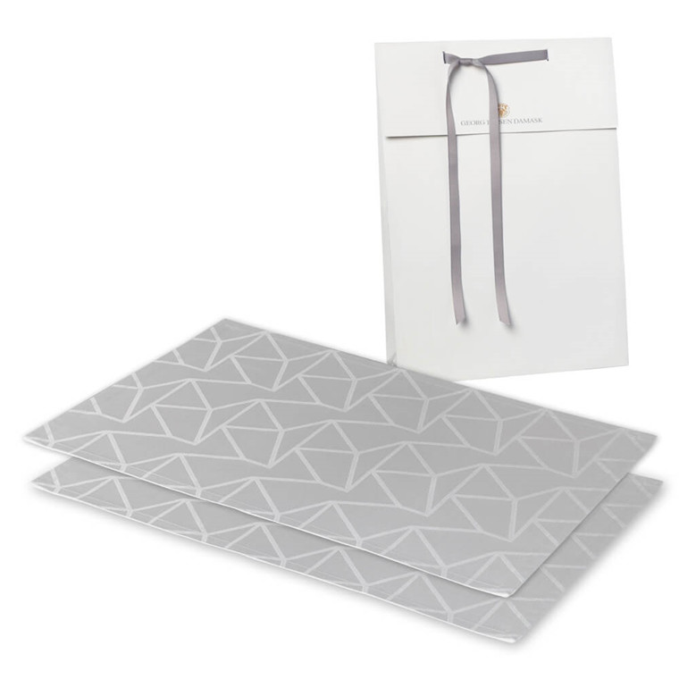 2 ARNE JACOBSEN rectangular placemats